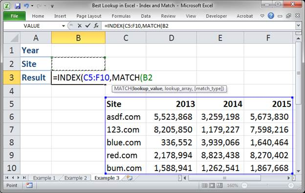 best lookup formula in excel index and match 3373 19 - Best Lookup Formula in Excel - Index and Match