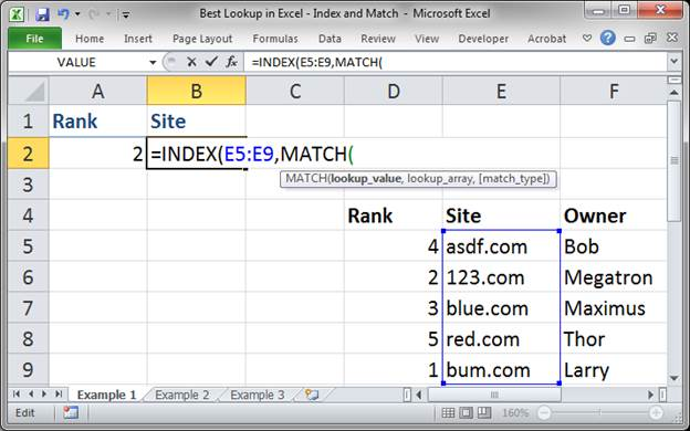 best lookup formula in excel index and match 3373 2 - Best Lookup Formula in Excel - Index and Match