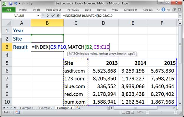 best lookup formula in excel index and match 3373 20 - Best Lookup Formula in Excel - Index and Match