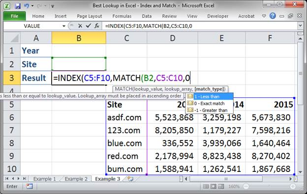 best lookup formula in excel index and match 3373 21 - Best Lookup Formula in Excel - Index and Match