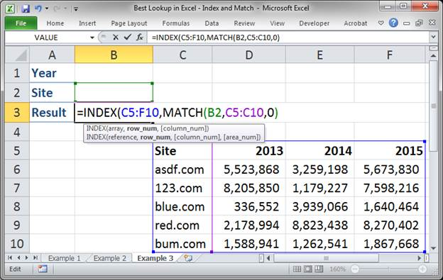 best lookup formula in excel index and match 3373 22 - Best Lookup Formula in Excel - Index and Match