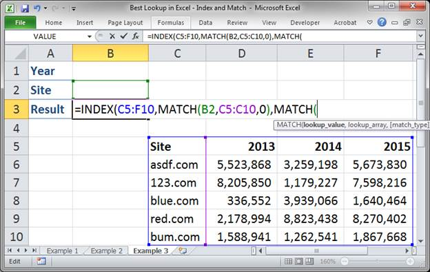 best lookup formula in excel index and match 3373 23 - Best Lookup Formula in Excel - Index and Match