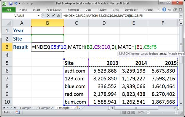 best lookup formula in excel index and match 3373 25 - Best Lookup Formula in Excel - Index and Match