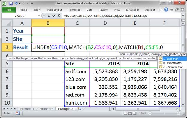 best lookup formula in excel index and match 3373 26 - Best Lookup Formula in Excel - Index and Match
