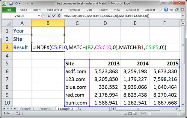 best lookup formula in excel index and match 3373 27 - Best Lookup Formula in Excel - Index and Match