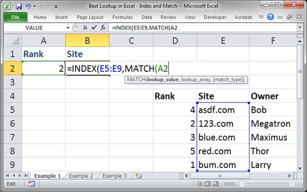 best lookup formula in excel index and match 3373 3 - Best Lookup Formula in Excel - Index and Match
