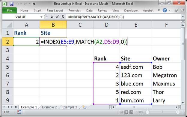 best lookup formula in excel index and match 3373 6 - Best Lookup Formula in Excel - Index and Match