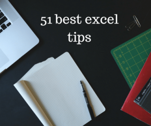 51 Best Excel Tips and Tricks = Professional In Excel