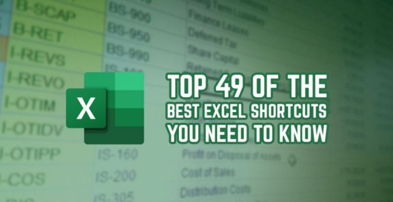top 49 of the best excel shortcuts you need to know - Top 49 of the Best Excel Shortcuts You Need to Know