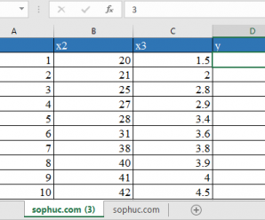How to use LOGEST Function in Excel