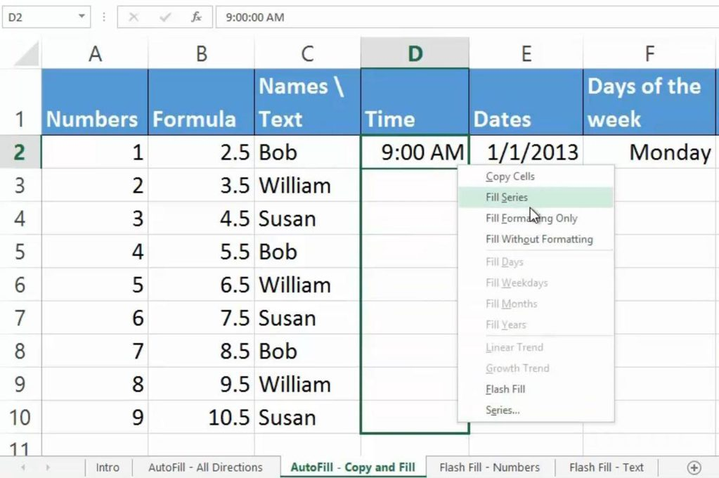 26 excel tips for becoming a spreadsheet pro 3872 21 - 27 Excel Tips for Becoming a Spreadsheet Pro