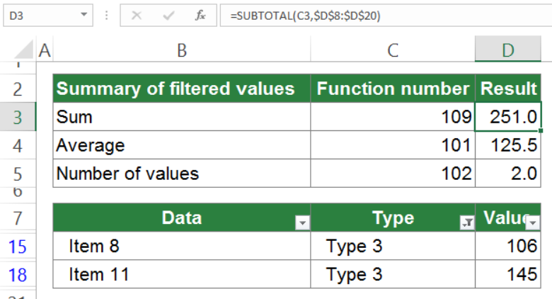 subtotal in excel everything you should know 6 - SUBTOTAL in Excel: Everything You Should Know