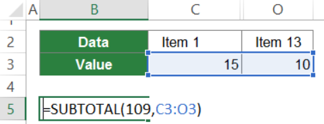 subtotal in excel everything you should know 7 - SUBTOTAL in Excel: Everything You Should Know