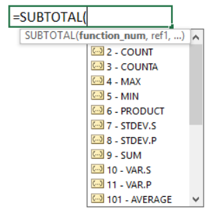 subtotal in excel everything you should know 9 - SUBTOTAL in Excel: Everything You Should Know