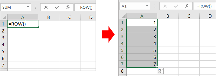 doc auto number 1 - { Best EXCEL Tips } How To Auto Number A Column In Excel?