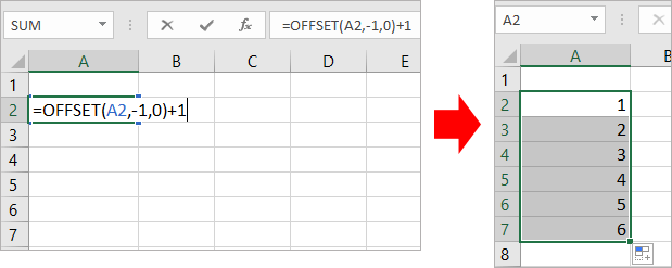 doc auto number 2 - { Best EXCEL Tips } How To Auto Number A Column In Excel?