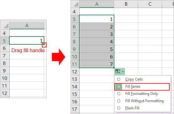 doc auto number 4 - { Best EXCEL Tips } How To Auto Number A Column In Excel?